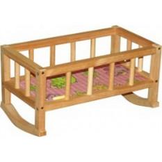 """Ліжечко """"BAMSIK"""" ВП 002 дерев'яне"""