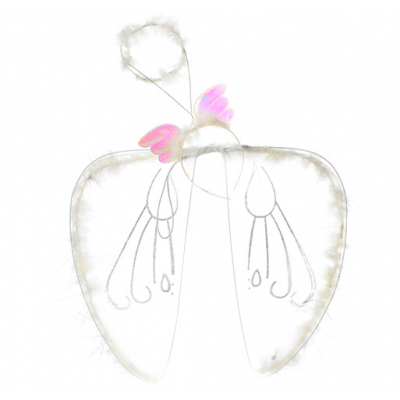 Крила карнавальні H 16493 ангел, в кульку