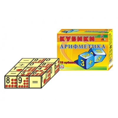 """Кубики 0243 """"Арифметики"""", ТехноК"""