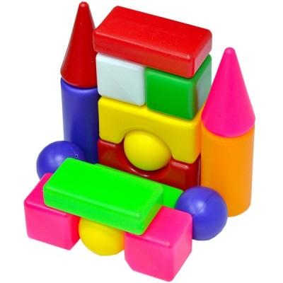 """Кубики будівельні """"Сіті Лайф"""" 095-4 """"BAMSIK"""", малий, міні 1"""