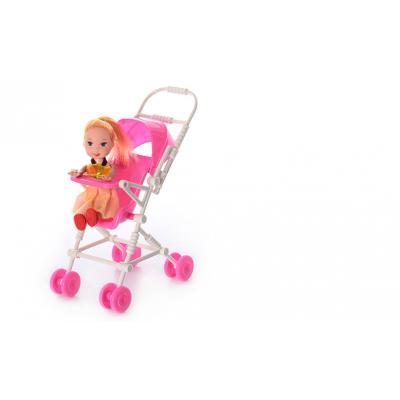 Лялька 262-18 з коляскою, в кульку