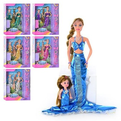 Лялька DEFA 20978 русалки 2 шт, аксесуари