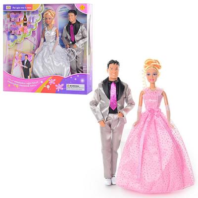 Лялька DEFA 20991 жених і наречена, в кор-ке