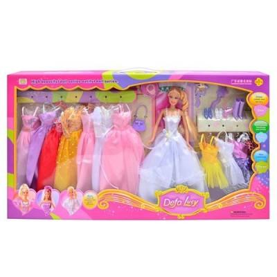 Лялька DEFA 8027 з одягом, в кор-ке