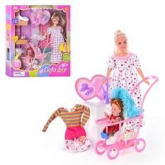 Лялька DEFA 8049 з нарядом, вагітна