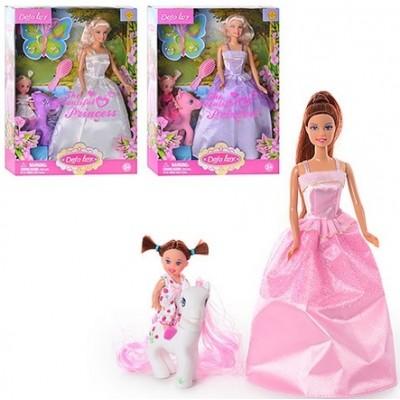 Лялька DEFA 8077 з дочкою і конячкою