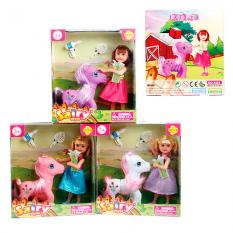 Лялька DEFA 8303 з конячкою, в кор-ке