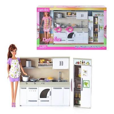 Лялька з кухнею DEFA 6085