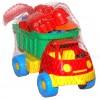 """Машина 046-2 """"Яблуко"""", Смайлик, з пасками"""