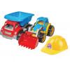 Машина 3954 ТехноК будтехніка №3, машина+трактор+каска