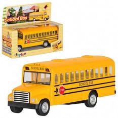 Машинка KS 5107 W металева, шкільний автобус, инерц-я, в кор-ке