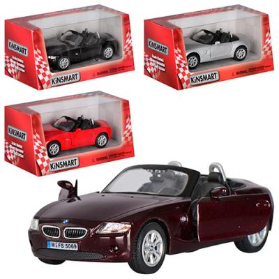 """Машинка жел. KINSMART KT 5069 W """"BMW Z4"""""""