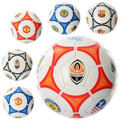 М'яч футбольний EV - 3164 розмір 5, клуби