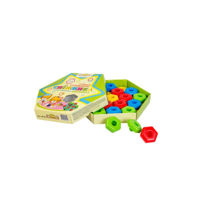 """Розвиваюча іграшка 39182 """"Тигрес"""", """"Сніжинка"""", 20 елементів"""