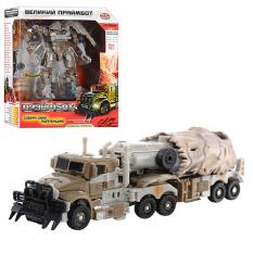 """Трансформер H 604/8110 """"Праймбот"""", робот-трейлер(військовий), в кор-ке"""