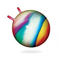 Мяч для фитнеса 0210 BAMSIK діаметром 45 см, з рожками