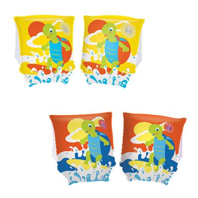 Нарукавники 32043 (36шт) черепаха, 23-15см, 2 кольори