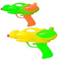 Водяний пістолет M 3080 (120шт) размір маленький, 20,5см, 2кольори, в кульці,17-25-3см