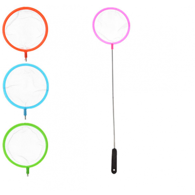 Сачок для метеликів MS 0887 (600шт) дліна 31см, дліна ручки 24см, діаметр 7см, 4 кольори