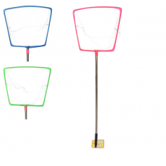 Сачок для метеликів MS 0889 (120шт) дліна 70,5см, дліна ручки 49см, сталь, 3 кольори