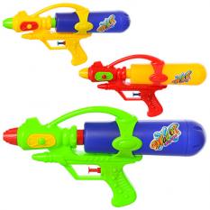 Водяний автомат M 3058 (120шт) размір средній, 28см, 3 кольори, в кульці, 28-15-5см