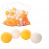 Тенісні шарики MS 0451 (2880шт) 40мм, PP, шовний, 1 упаковка 144шт, 2 кольори