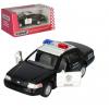 Машинка KT 5327 W (24 шт) метал, инер-я, поліция, 1:42,12см, откр.дв, рез.колеса,в кор-ці