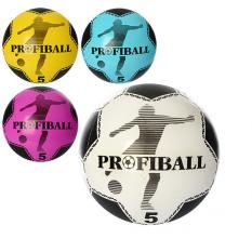 Мяч детячий MS 0932 (120шт) 9 дюймів, футбол, ПВХ, 75г, 4 кольори