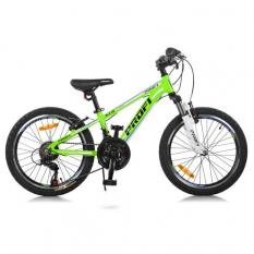 Велосипед 20 д. G20A315-L-2B (1шт/ящ) , зелено-голуб.