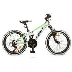 Велосипед.20 д  G20A315-L-3W (1шт/ящ), біло-салат.,