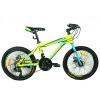 Велосипед 20 д. G20HARDY A20.1 (1шт/ящ), салат.-голуб.