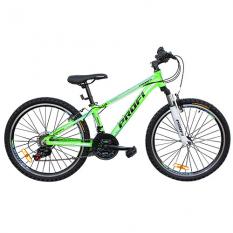 ¶Велосипед 24 д. G24A315-L-2B (1шт / ящ) зелено-голуб.