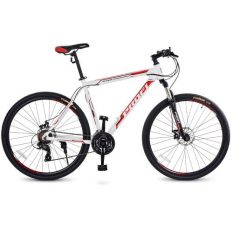 Велосипед 29д. G29BASIS A29-1 (1шт / ящ) Біло-черв.