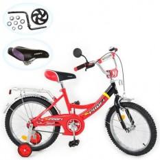 Велосипед PROFI дитячий 16д. P 1646 A(1шт/ящ) червоно-чорний.