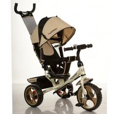 Велосипед M 3113-9 (1шт) три кол.EVA (11/9), колясочні, своб.ход колеса, гальмо, підшипників, золотий