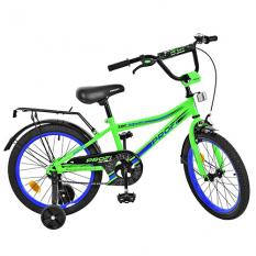 Велосипед дитячий PROF1 18д. L18102 (1шт/ящ) Top Grade, салатовый