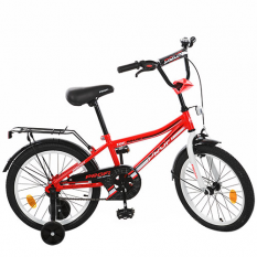 Велосипед дитячий PROF1 18д. L18105 (1шт/ящ) Top Grade, червоний