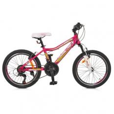 Велосипед 20 д. GW20CARE A20.1 (1шт / ящ), малиновий