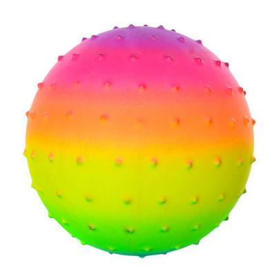 М'яч масажний MS 0939 веселка