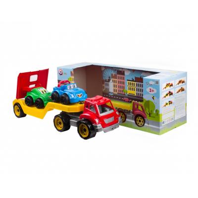 """Іграшка 3909 """"Автовоз з набором машинок ТехноК"""","""