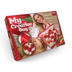 """Набір MCB 0413 (5шт) Сумка вишита стрічками та бісером """"Creative Bag"""""""