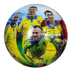 М'яч футбольний EV 3152-1 збірна Україна