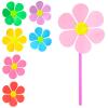 Вітрячок M 3724 Квітка