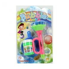 Мильні бульбашки 4838 A-1 дудка, 15 см, запаска, 2 кольори, на аркуші, 15-24-7 см
