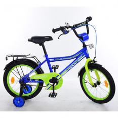 Велосипед детский PROF1 14д. Y14103 (1шт / ящ) Top Grade, синий