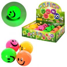 М'яч дитячий MS 0914 (1уп/12шт) Пищалка, в дисплеї